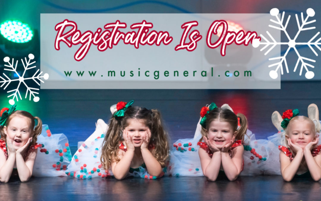Registration Is Open!!